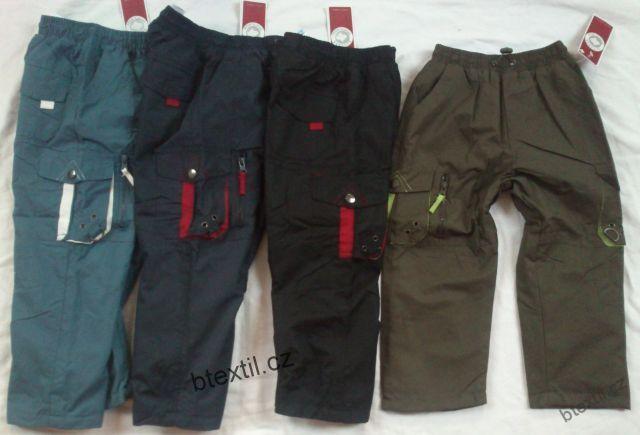 31269d85bd4 Dětské oteplené kalhoty kapsáče
