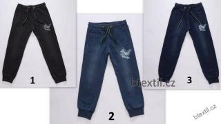08cd0ed9a91 Chlapecké džínové tepláky kalhoty empty